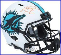 Tua Tagovailoa Miami Dolphins Signed Lunar Eclipse Alternate Replica Helmet