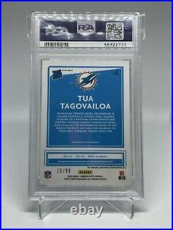 Tua Tagovailoa Optic Holo Auto /99 PSA 10 POP 1
