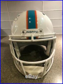 Tua Tagovailoa Signed Full Size Dolphins Riddell Replica Helmet (Fanatics Cert.)