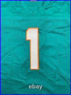 Tua Tagovailoa autographed signed jersey NFL Miami Dolphins Beckett COA