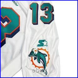 Vtg Rare NFL Miami Dolphins #13 Marino Signed Authentic Starter Jersey. Size 46