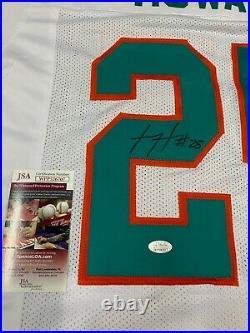 Xavien Howard Miami Dolphins Signed Custom Throwback Jersey Jsa Witness Coa