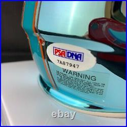Xavien Howard autographed signed Chrome Mini Helmet Miami Dolphins PSA Baylor