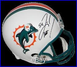 Zach Thomas Autographed Signed Miami Dolphins Full Size Helmet Beckett
