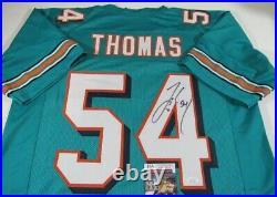 Zach Thomas Miami Dolphins Signed Autographed Jersey JSA